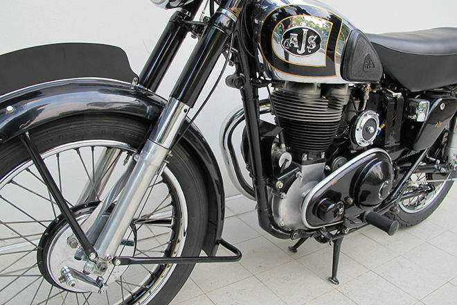 Мотоцикл AJS Model 18 500 (S, CS, Statesman) 1945