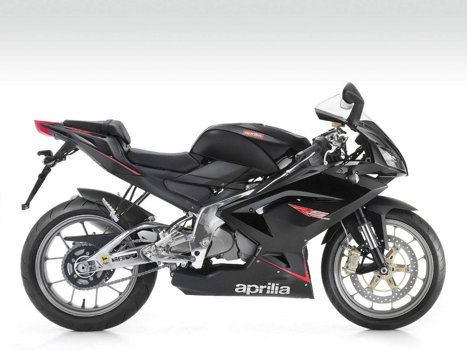 Мотоцикл Aprilia RS 125 Full Black 2010