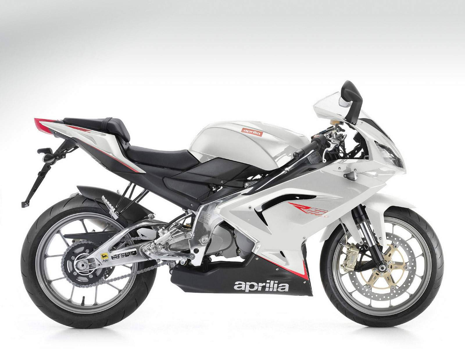 Мотоцикл Aprilia RS 125 Full White 2010