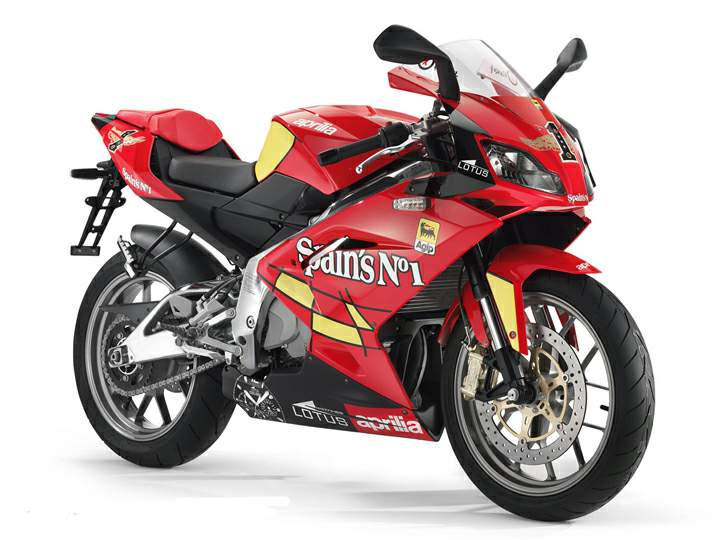 Мотоцикл Aprilia RS 125 Spains No.1 2009