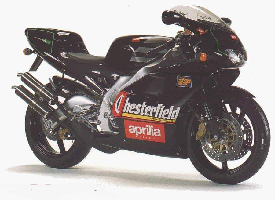 Мотоцикл Aprilia RS 250 Chesterfield Replica 1996