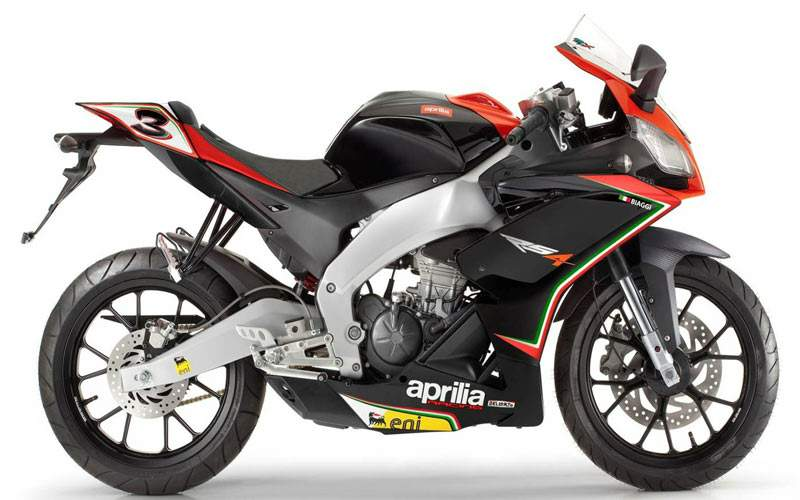 Мотоцикл Aprilia RS4 125 Biaggi Racing Replica 2012