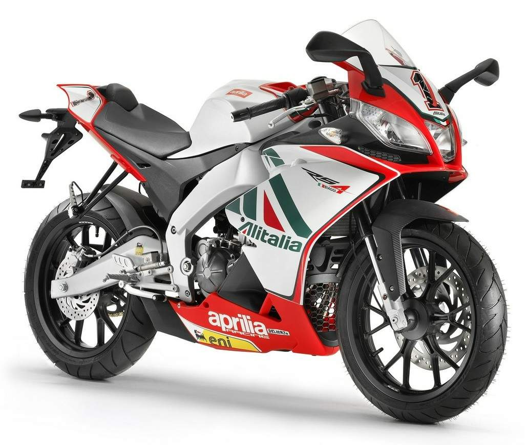 Мотоцикл Aprilia RS4 125 Team Aprilia Alitalia Racing Replica 2011