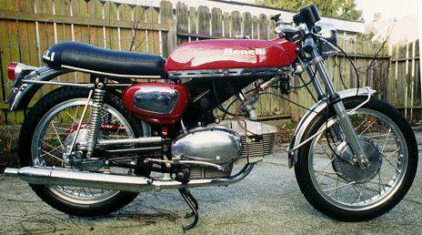 Мотоцикл Benelli 250 Barracuda 1967