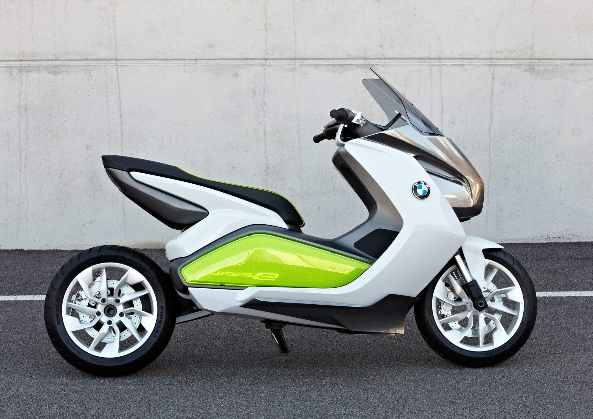 Мотоцикл BMW E-Scooter Concept 2012
