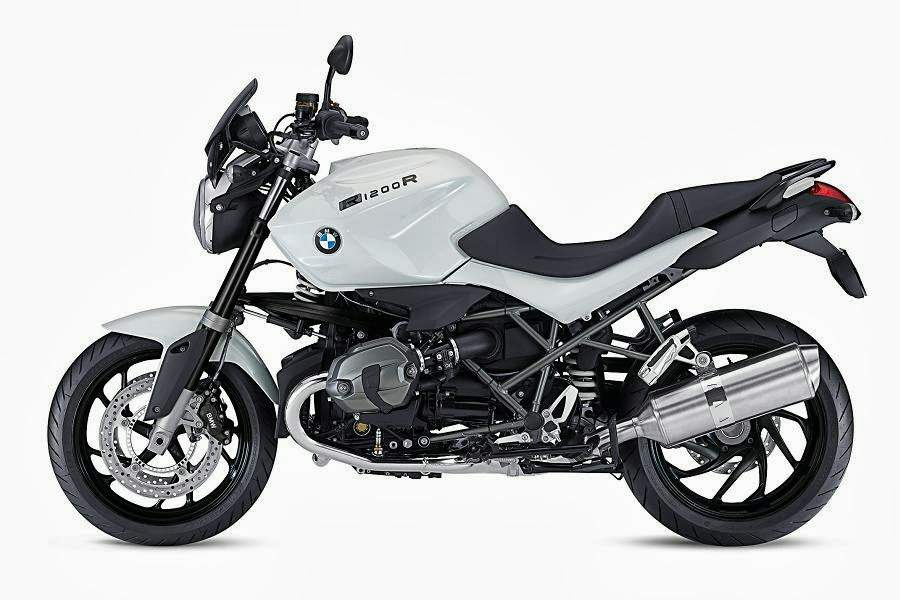 "Мотоцикл BMW R 1200R ""Dark White"" Special Edition 2013"