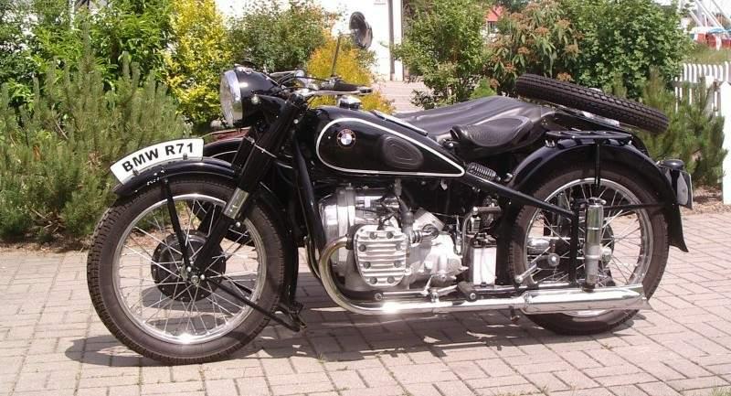 бмв р71 мотоцикл фото
