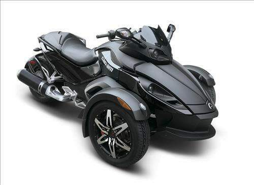 Мотоцикл BRP Can-am Can Am Spyder Roadster GS Phantom Black Limited Edition 2009