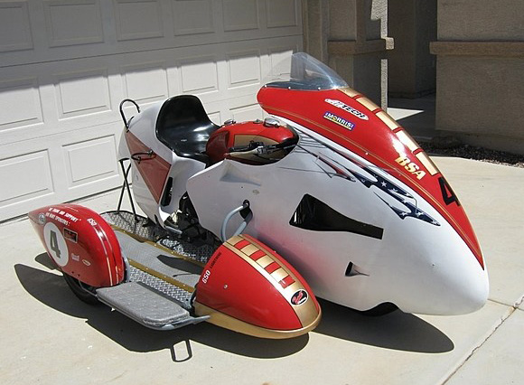 Мотоцикл BSA A 65 Racing Sidecar 1969