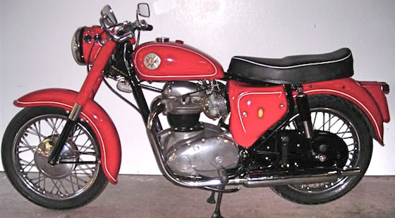 Мотоцикл BSA A 65 Star Twin / Royal Star 1962