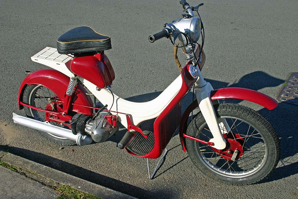 Мотоцикл BSA Dandy 1957