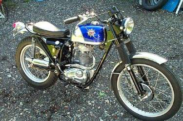 Мотоцикл BSA ictor  Enduro 1971