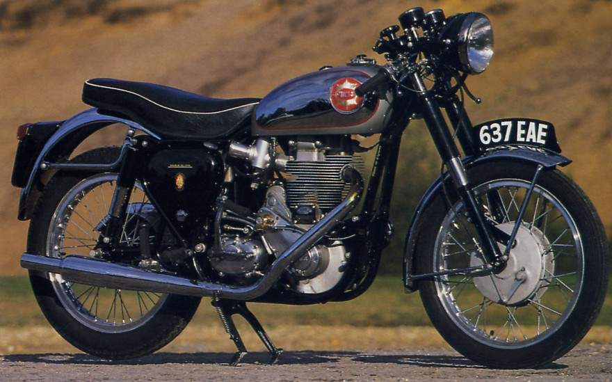 Мотоцикл BSA old Star Clubman 1956