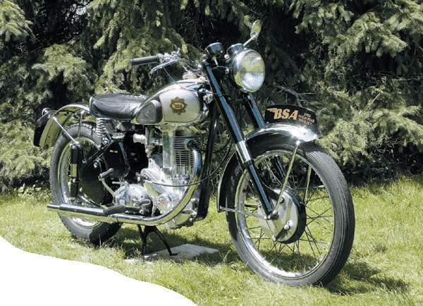 Мотоцикл BSA old Star 1950