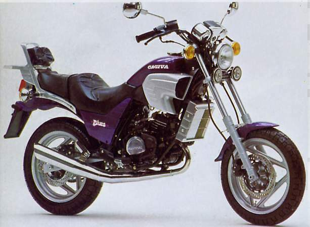 Мотоцикл Cagiva Custom Blues 125  1988
