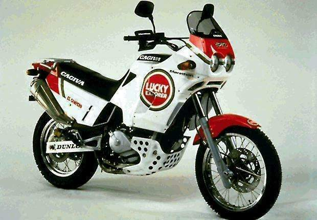 Мотоцикл Cagiva Elefant 75 0C ie Lucky Explorer 1994