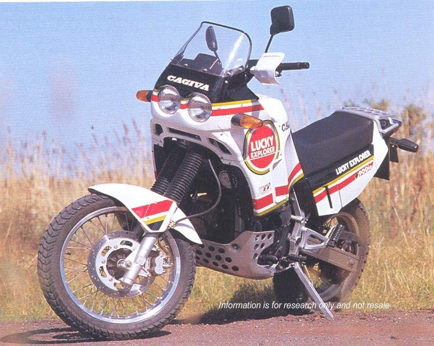 Мотоцикл Cagiva Elefant 900ie Lucky Explorer 1992