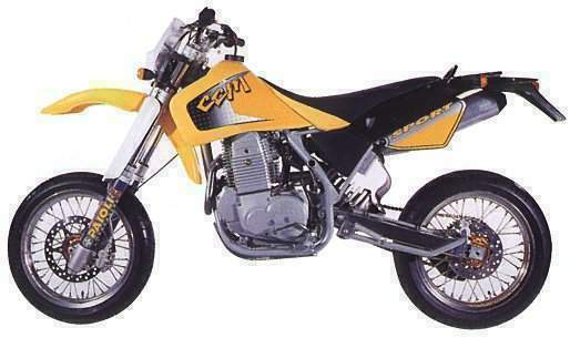 Мотоцикл CCM 604 DS Supermoto 2000