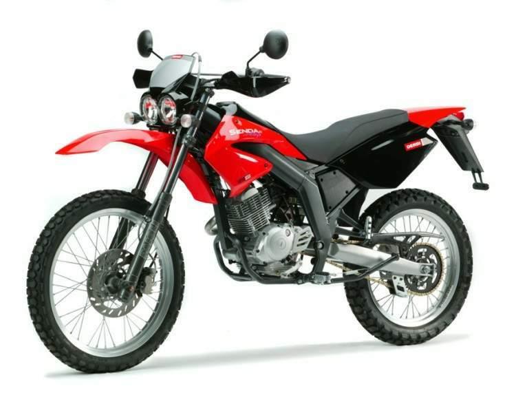Мотоцикл Derbi Senda R 125 4T