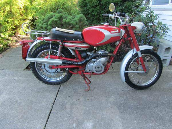 Мотоцикл Ducati 100 Cadet / 100 Mountaineer 1965