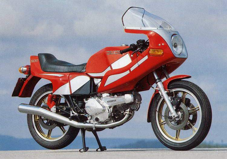 Мотоцикл Ducati 500SL Pantah 1979 Описание, Фото, Запчасти, Цена ...