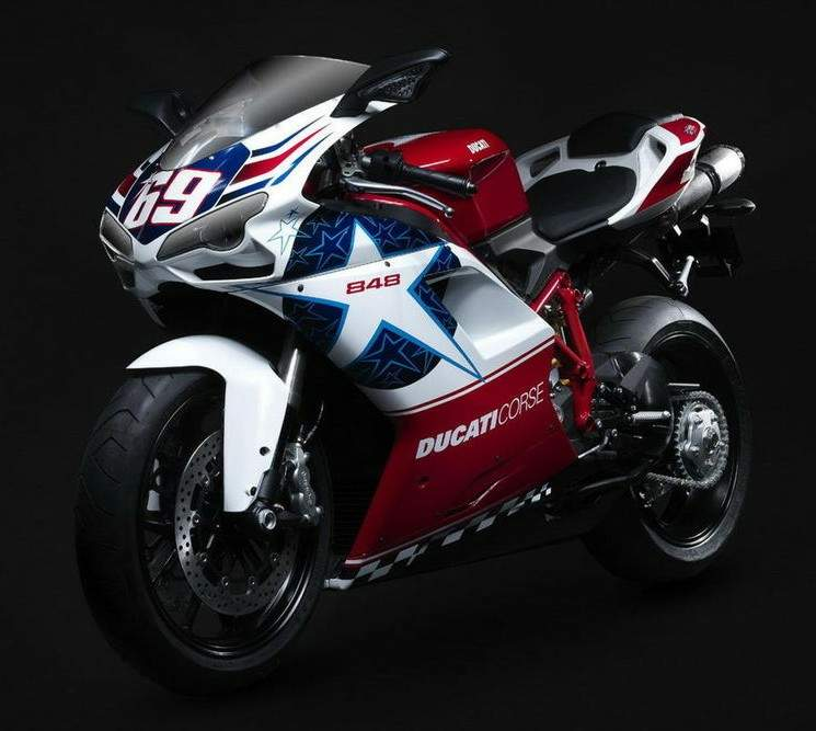 Мотоцикл Ducati 848 Nicky Hayden Edition 2010
