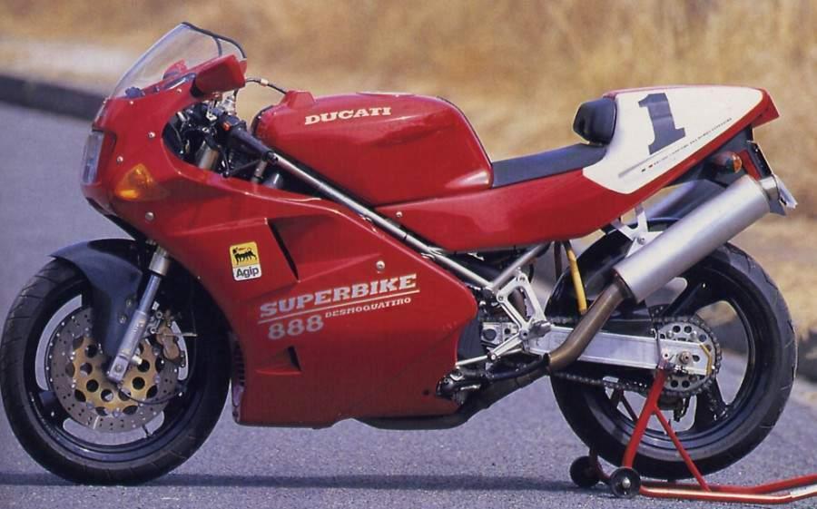 Мотоцикл Ducati 888SP O (US) 1993