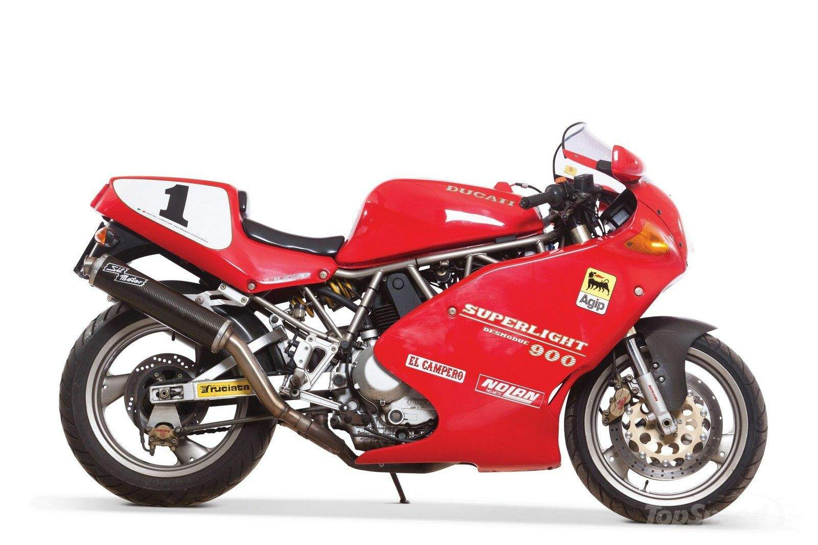 Мотоцикл Ducati 900SL Superlight 1993