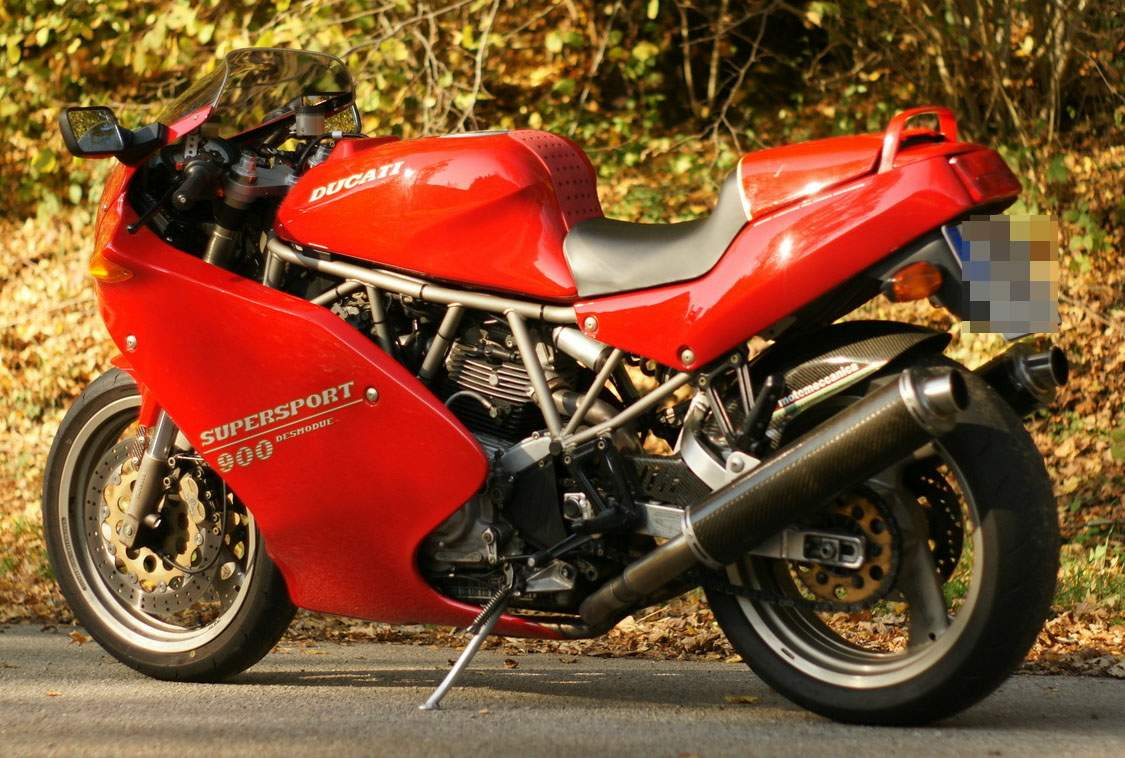 Мотоцикл Ducati 900SS ie Carenata 2001