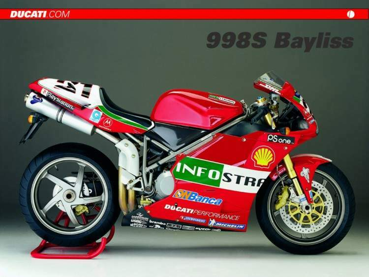 Мотоцикл Ducati 998S Baylies Replica 2002