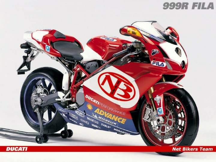 Мотоцикл Ducati 999R Net Bikers Team 2006