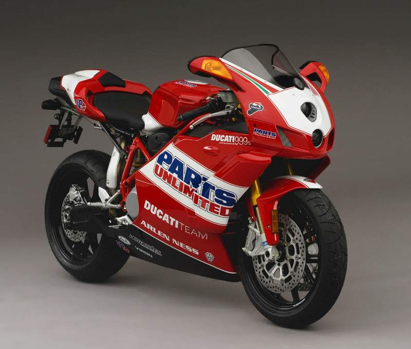 Мотоцикл Ducati 999S Team USA Limited Edition 2007
