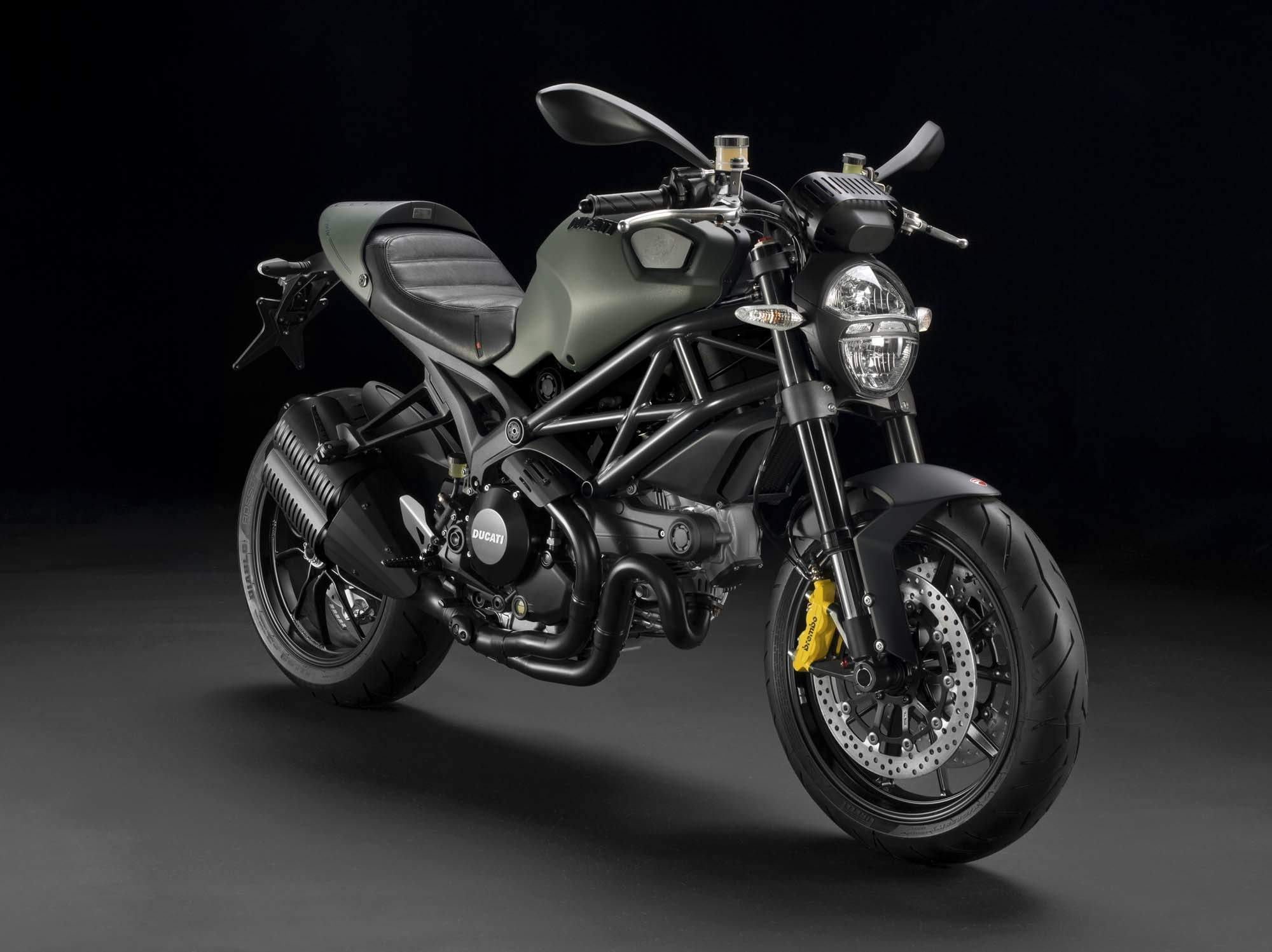 Мотоцикл Ducati Monster 1100 EVO Diesel Special Edition 2012