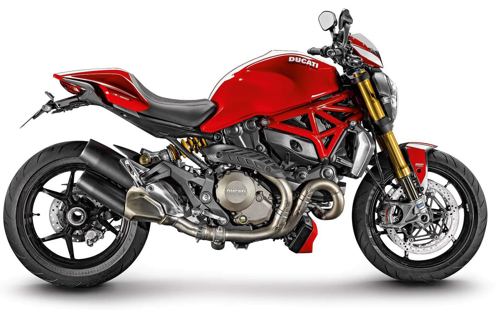 Мотоцикл Ducati Monster 1200S Stripe 2015
