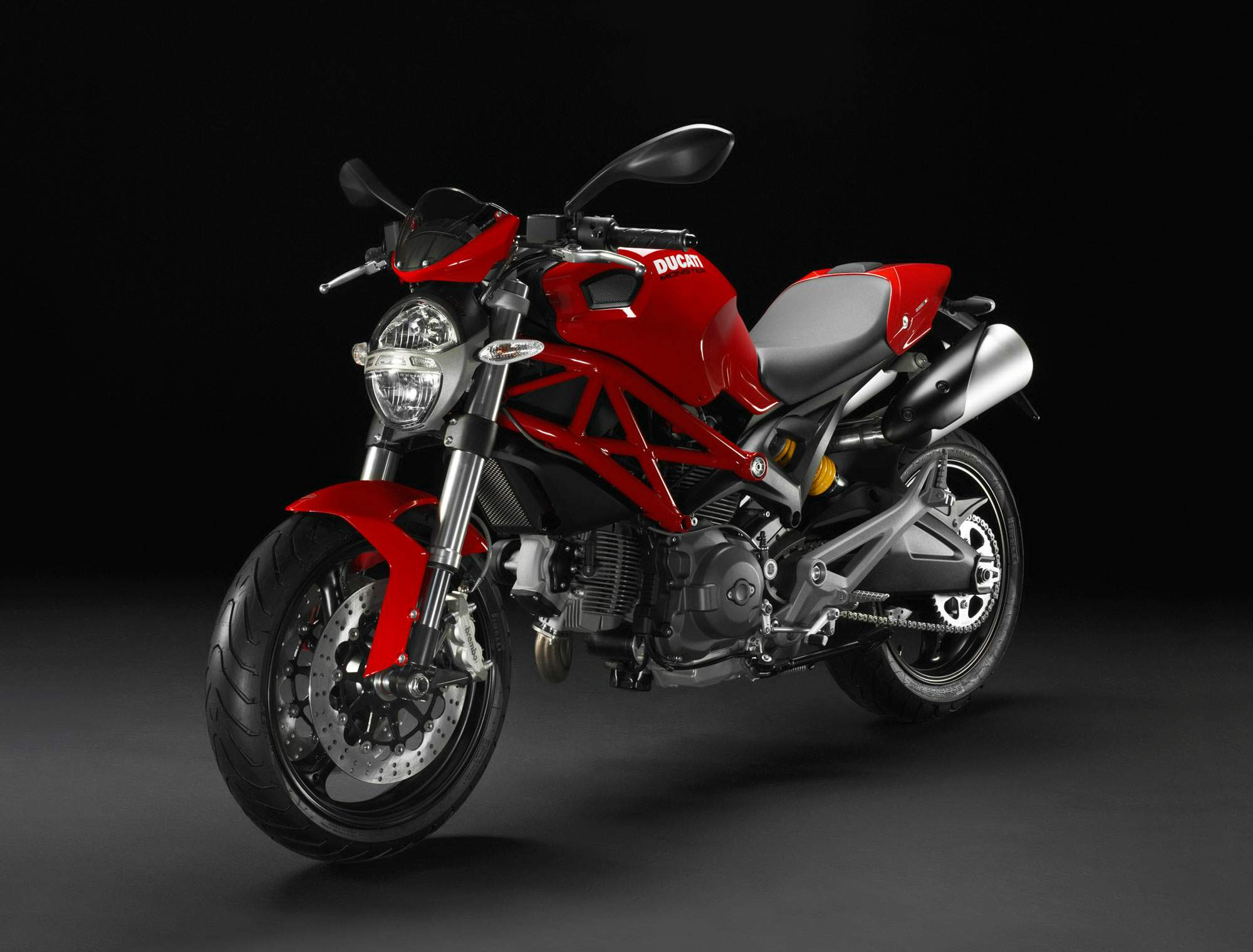 Мотоцикл Ducati Monster 696 20th Anniversary 2013