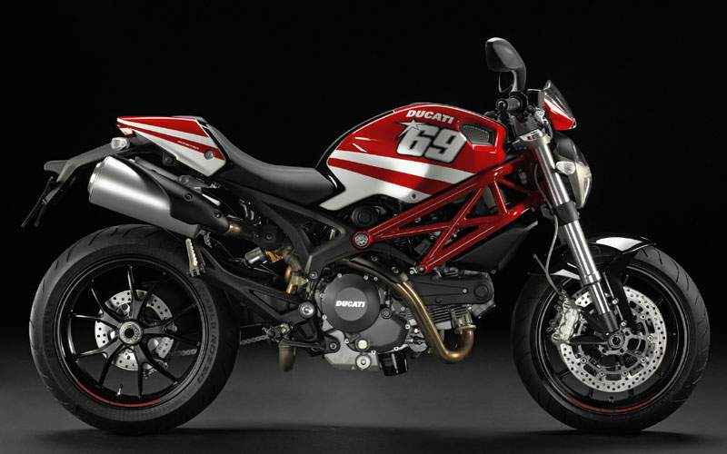 Мотоцикл Ducati Monster 796 Hayden MotoGP Replica 2011