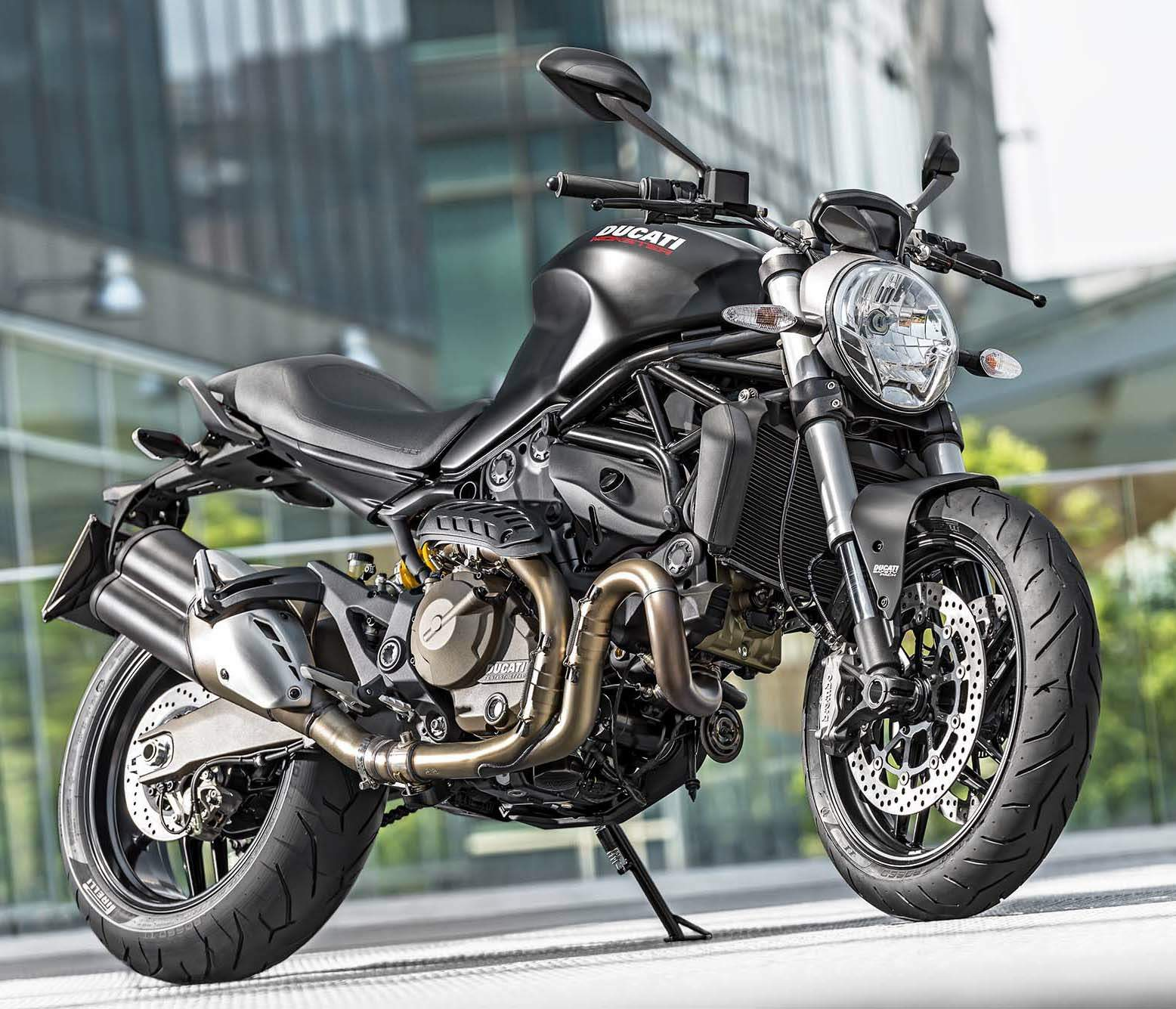 Мотоцикл Ducati Monster 821 Dark 2014