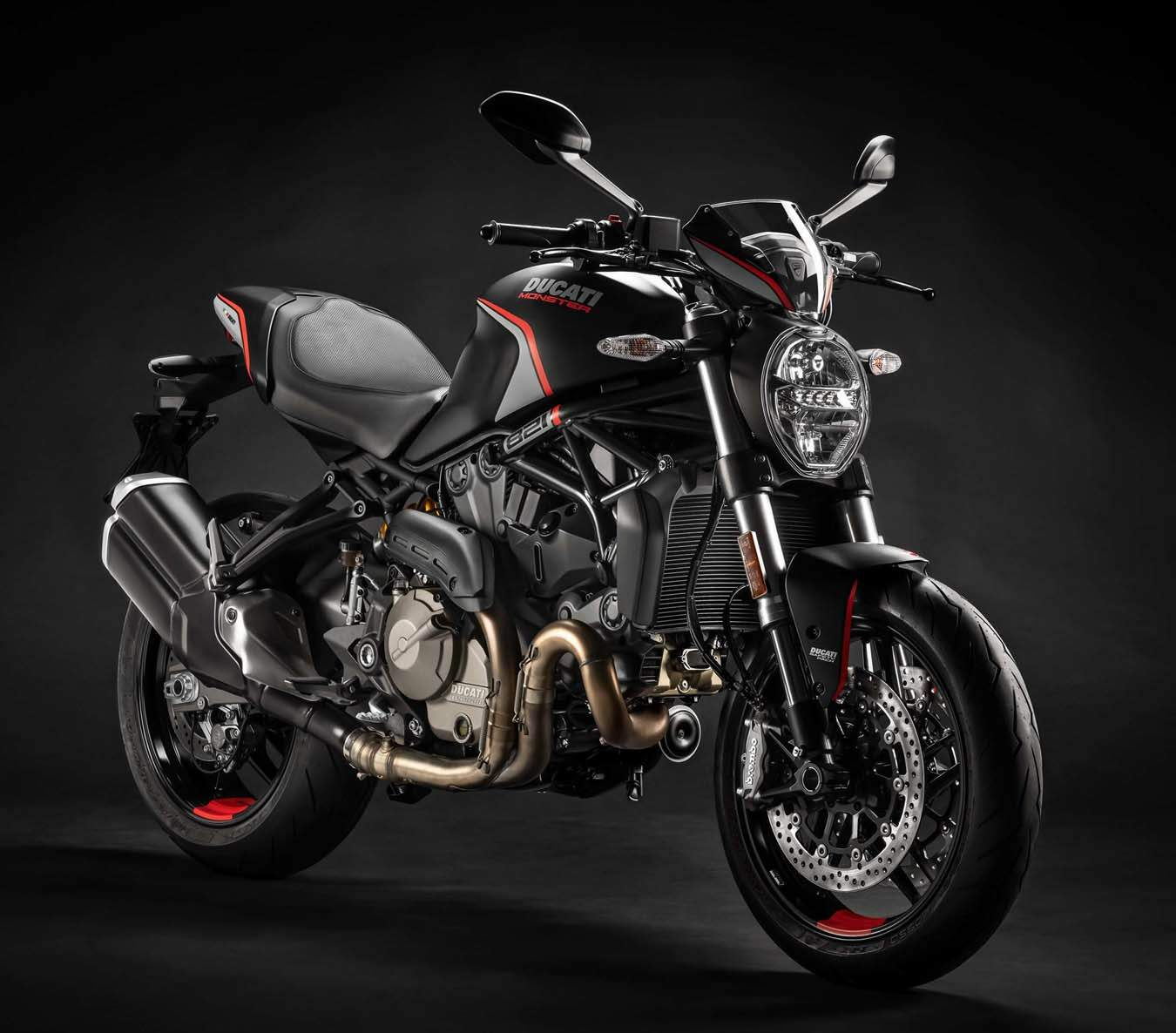 Мотоцикл Ducati Monster 821 Stealth 2019