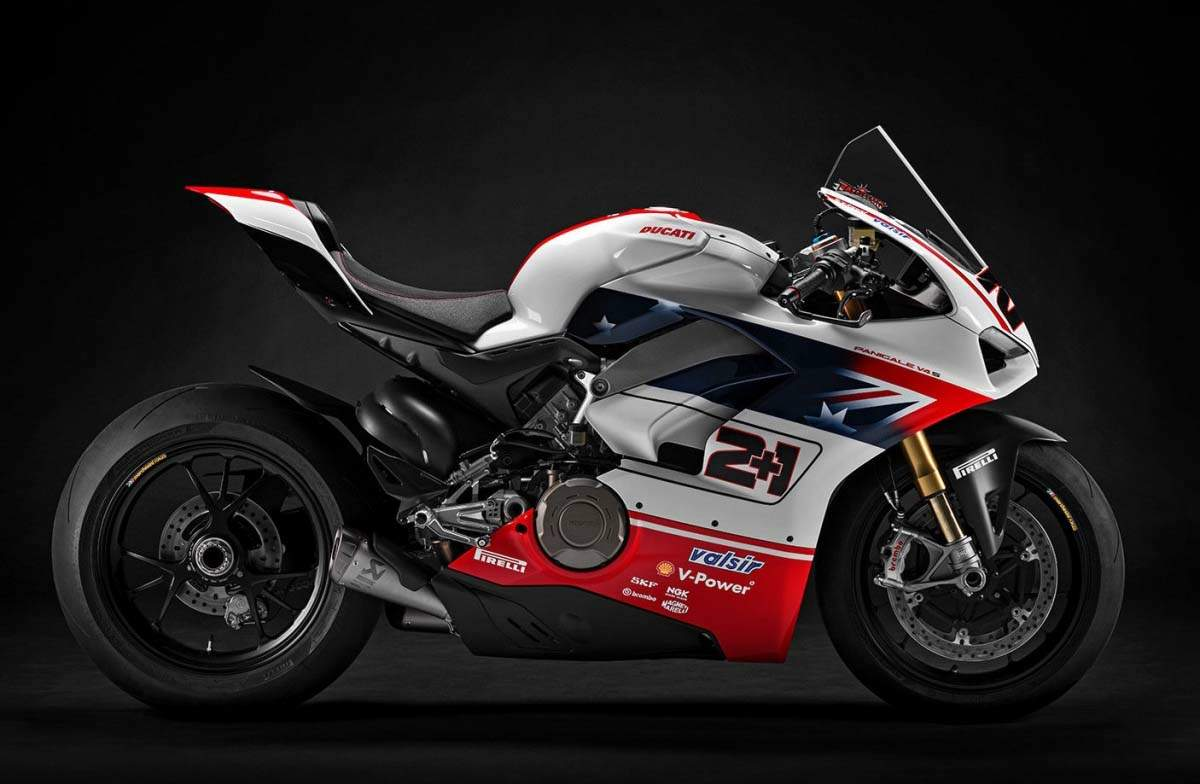 Мотоцикл Ducati Panigale V4 S Race of Champions Editions 2018