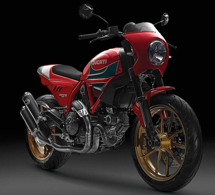 Мотоцикл Ducati Scrambler Mike Hailwood Special Edition 2001