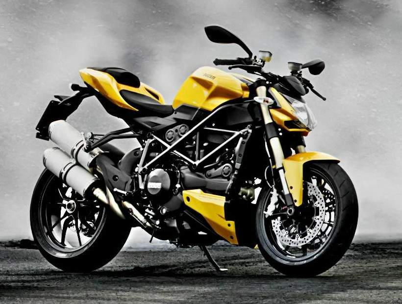 Мотоцикл Ducati Streetfighter 848 AMG Special Edtion 2012