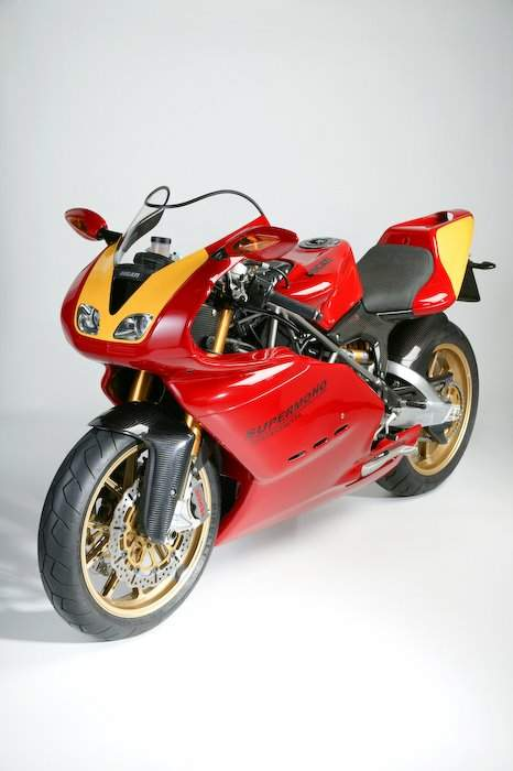 Мотоцикл Ducati Supermono Street Version (one off) 2009