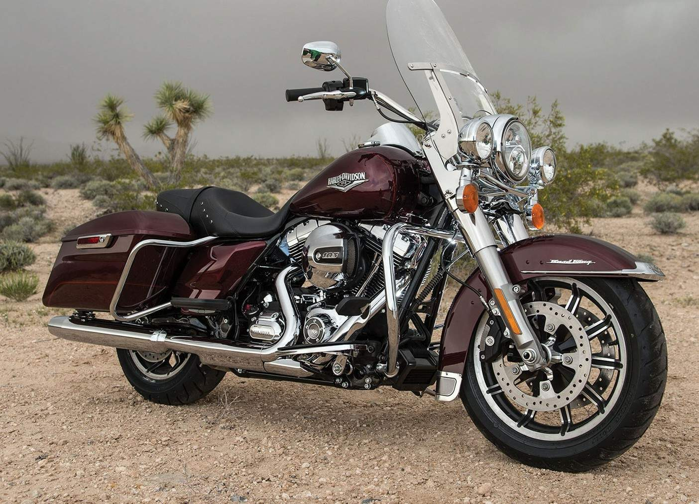 Мотоцикл Harley Davidson FLHR Road King 2014