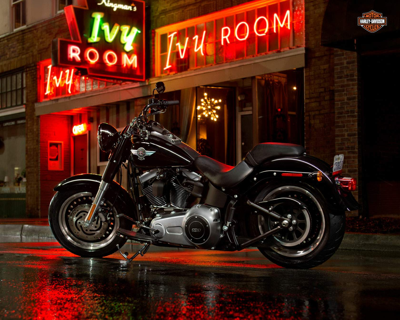 Мотоцикл Harley Davidson FLSTFB Softail Fat Boy Special UK Model 2013