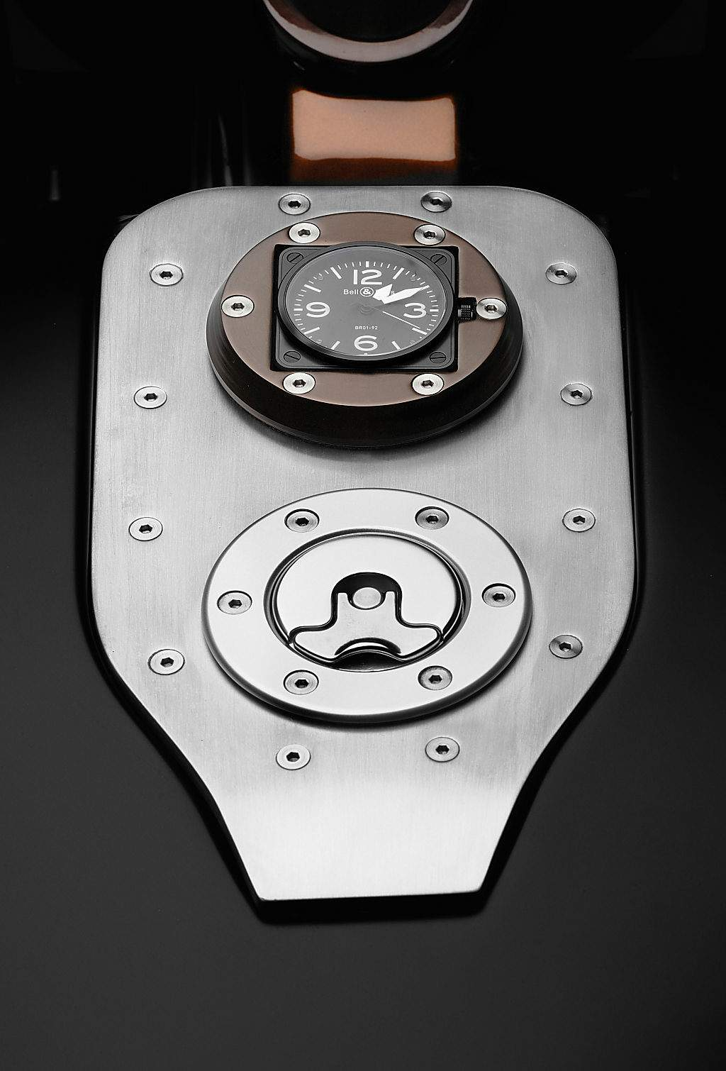 Мотоцикл Harley Davidson FXSTB Softail Night Train Bell & Ross Custom Bike 2011
