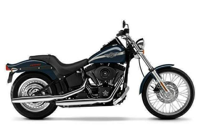 Мотоцикл Harley Davidson FXSTB Softail Night Train 2001