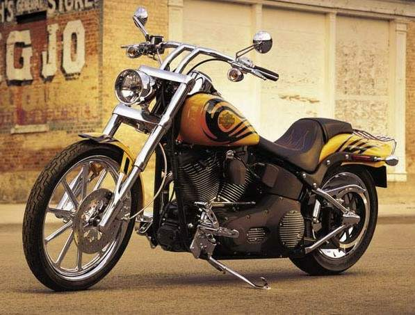 Мотоцикл Harley Davidson FXSTB Softail Night Train 2005
