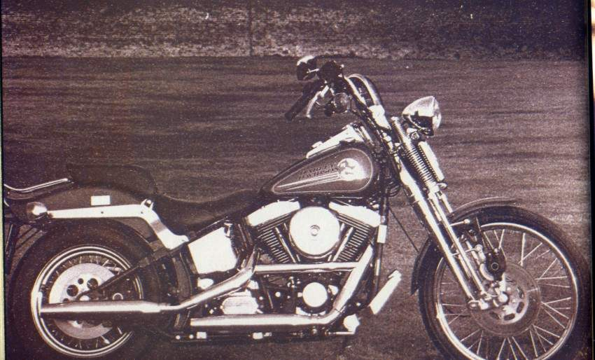 Мотоцикл Harley Davidson FXSTS Softail Springer 1993