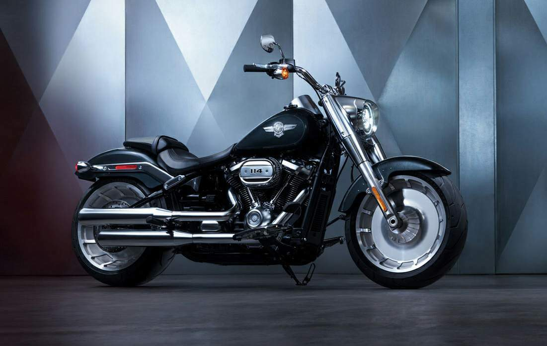 Мотоцикл Harley Davidson Softail Fat Boy 114 2018