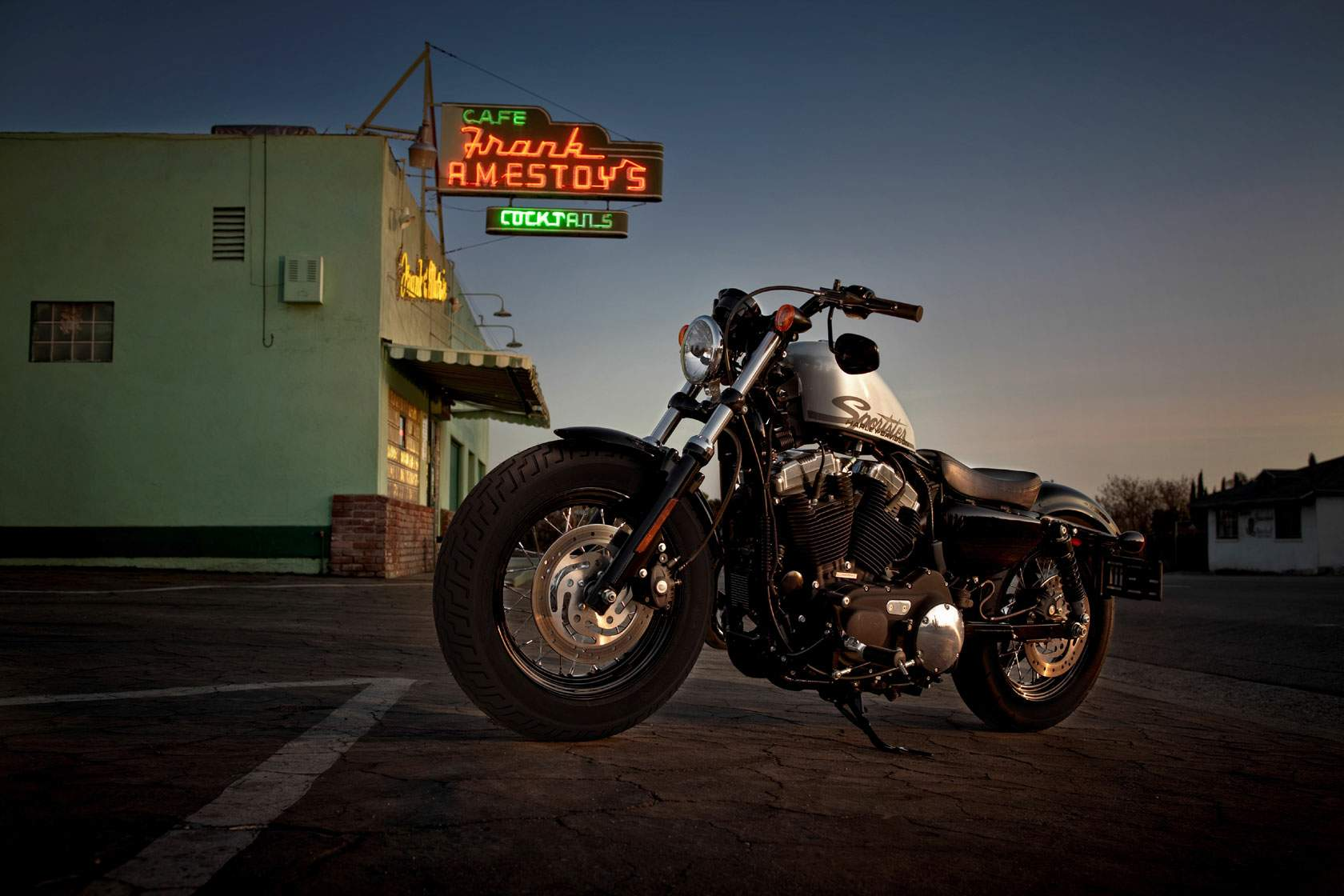 Мотоцикл Harley Davidson XL 1200X Forty-Eight 2011